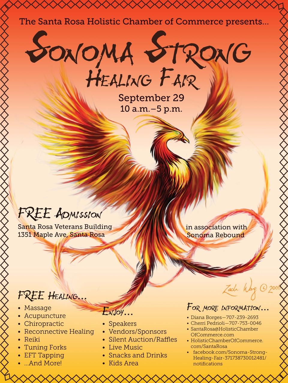 Sonoma Strong Healing Fair